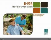 IHSS provider orientation video