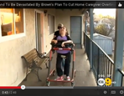 Families stand to be devastated by Brown's plan to cut home caregiver overtime pay