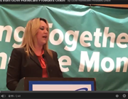 AFSCME Secretary-Treasurer Laura Reyes inspires caregivers