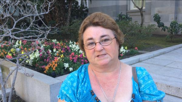 Merced caregiver Katrina Bucol
