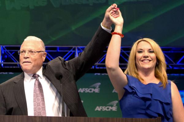 UDW caregiver Laura Reyes is named Secretary-Treasurer of AFSCME.