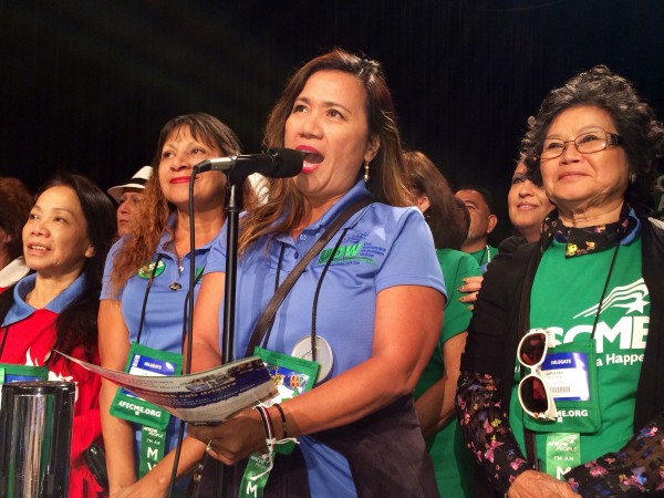 At our union's national convention in Chicago, UDW caregivers were recognized for leading the way for homecare.