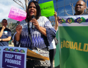Caregivers Unite to Fight Governor Brown's Broken Promises