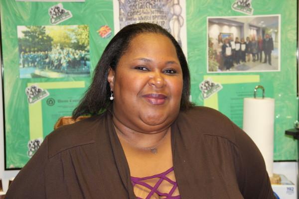 Bargaining team member and UDW homecare provider Cassandra Sambrano