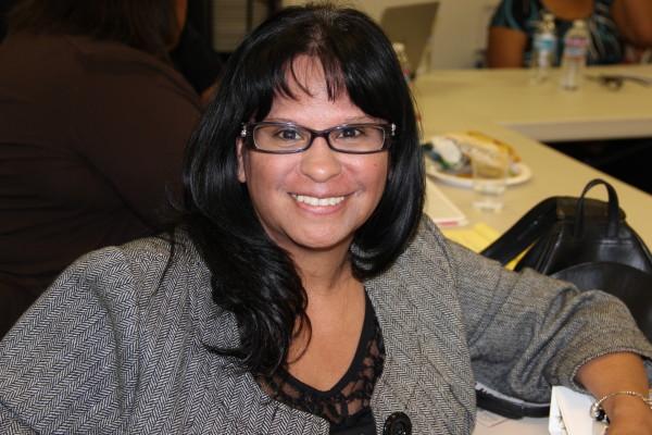 UDW homecare worker and bargaining team member Lisa Rivera