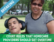 Federal court rules in favor of overtime pay for homecare workers