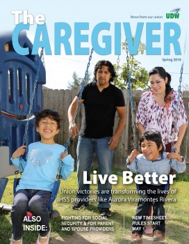 Spring 2016 Caregiver Eng Cover
