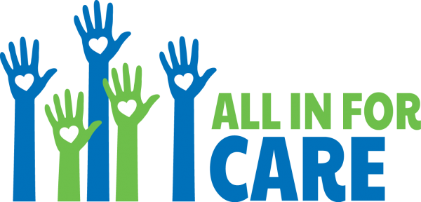 All in for Care logo png