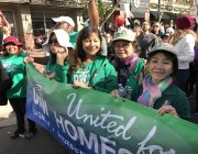 Why I Marched – UDW caregivers attend the Women's March