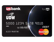 New benefit for UDW members: the UDW U.S. Bank Focus Card!