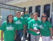 Merced caregivers ask you to 'honk for Homecare'!