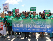 UDW members protect homecare, say 'NO' to ALEC