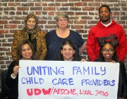 UDW Family child care providers are uniting!