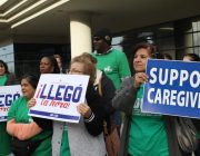 In-home care union says workers need more than minimum wage to survive