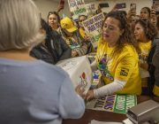 California's newest union? Childcare workers turn in petitions